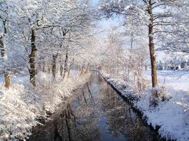 Gaasterland in de winter
